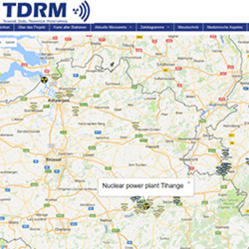 Tihange-Doel Radiation Monitoring