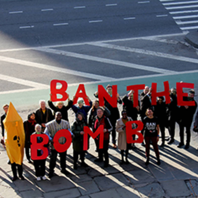 Ban The Bomb Protest New York, Photo: icanw.org