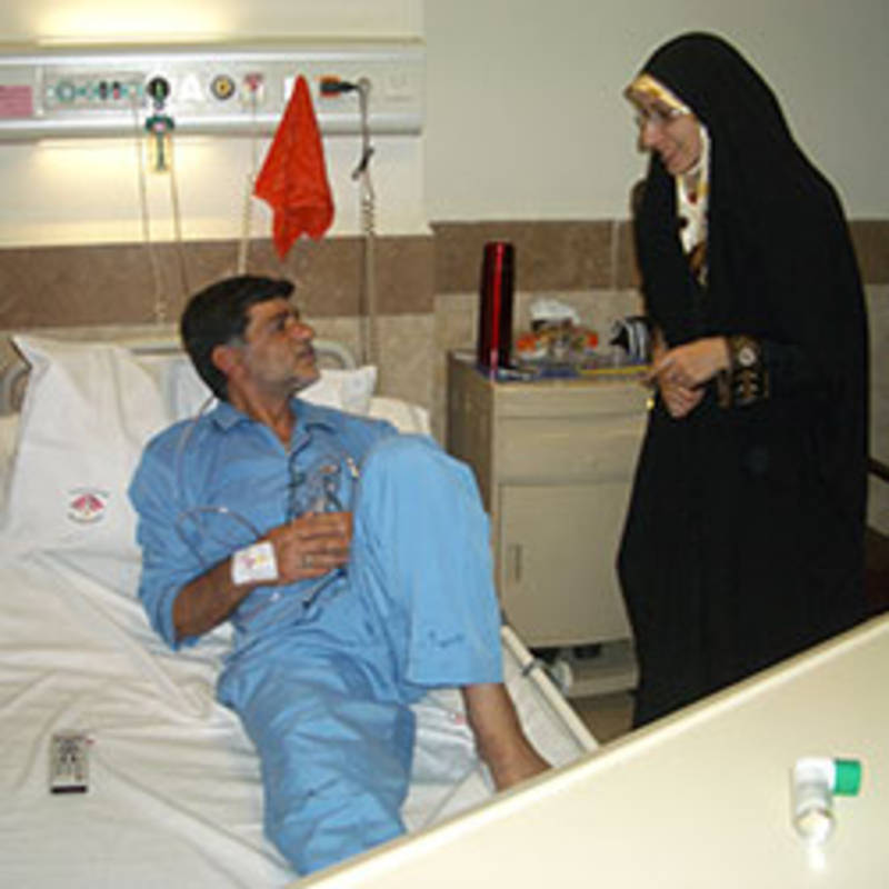 IPPNW has concerns that the sale of medical supplies and devices, and medical aid, with the potential to save lives and improve health in Iran, may suffer penalties from US sanctions, Photo: IPPNW