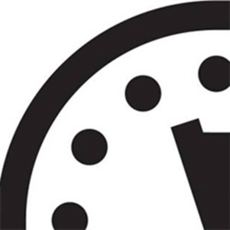 Doomsday Clock. Quelle: Bulletin of Atomic Scientists