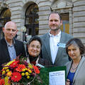 Sebnem Korur Fincanci is awarded the Medical Peace Prize (Nurnberg, 2011) Source: IPPNW Germany