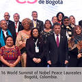 Co-president Ira Helfand at the 16th World Summit of Nobel Peace Laureates. http://www.bogota-nobelpeacesummit.com/index.php/en/
