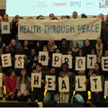 Health Through Peace conference, organised by Medact in November 2015, Foto: IPPNW.