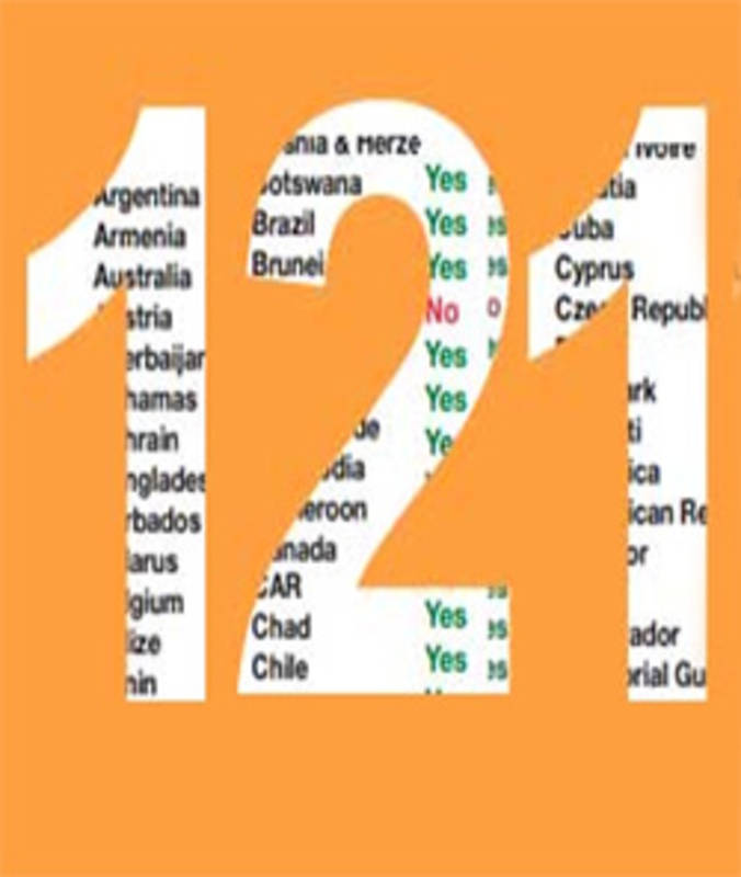 121 States already support the Humanitarian Pledge, Source: ippnw.org
