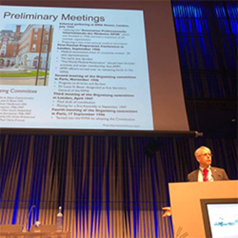 WMA Medical Ethics Conference in Reykjavik