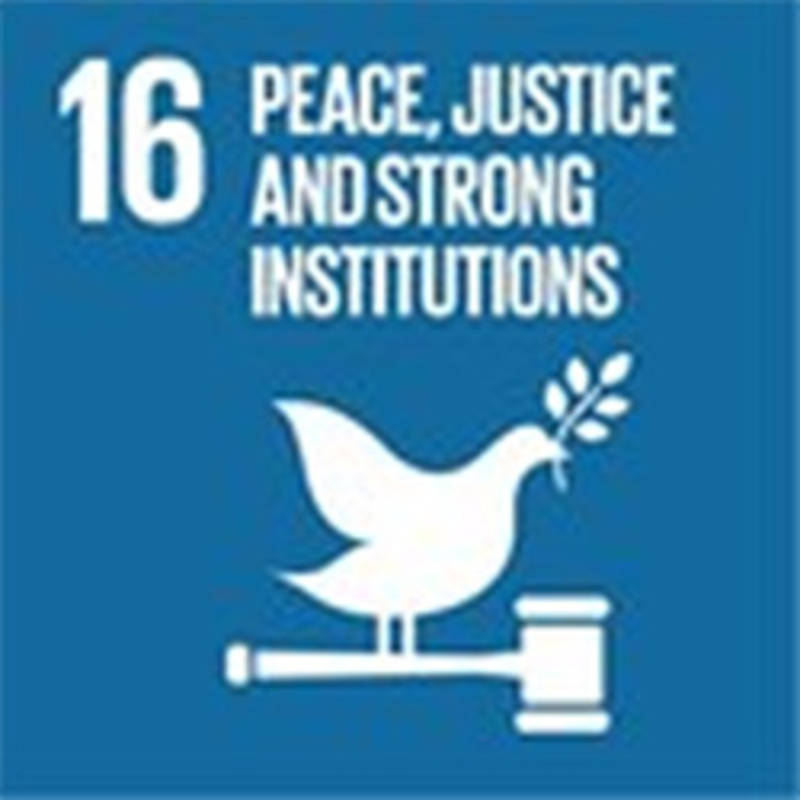 UN Goal 16: Promoting peace, justice and inclusive societies