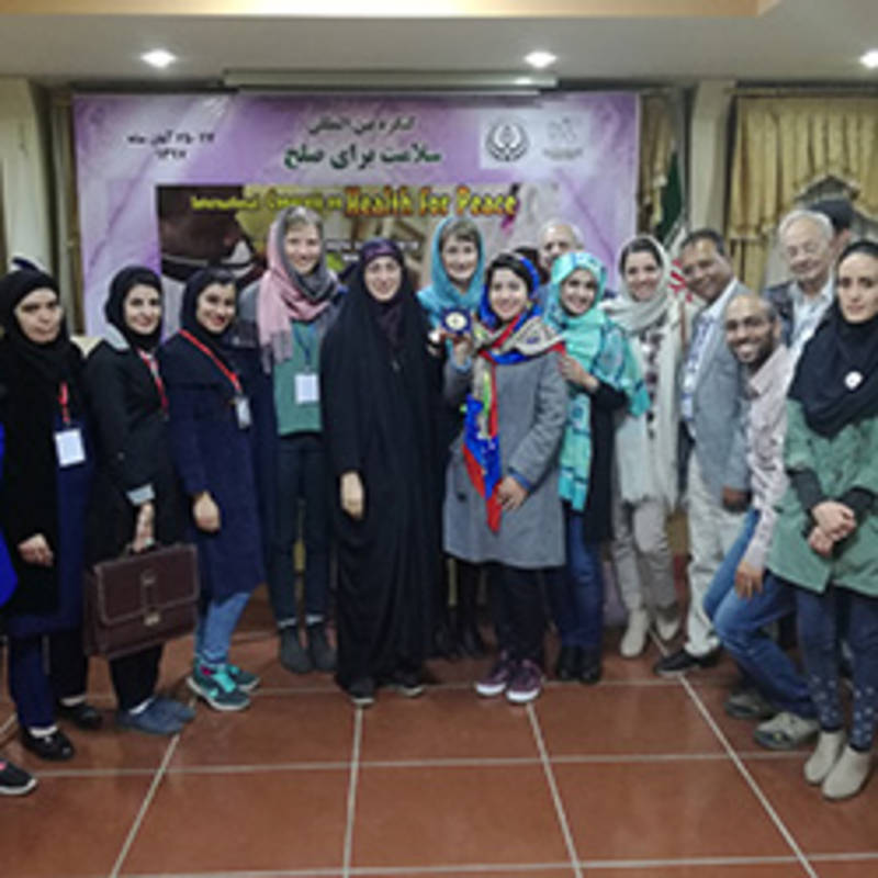 International Conference on Peace Through Health in Shiraz, Iran, Photo: IPPNW.